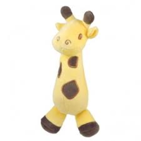 Dandelion Organic Cotton Soft Rattle- Giraffe