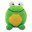Dandelion Handcrafted Roly Poly Rattles - Frog or Bee