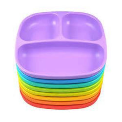 'Re- Play' BPA Free Divided Plates Single