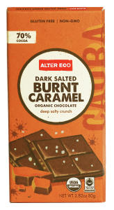 ALTER ECO Dark Salt Burnt Caramel Organic Chocolate 100% Fair Trade