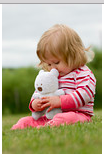 Organic Cotton Plush Teddy