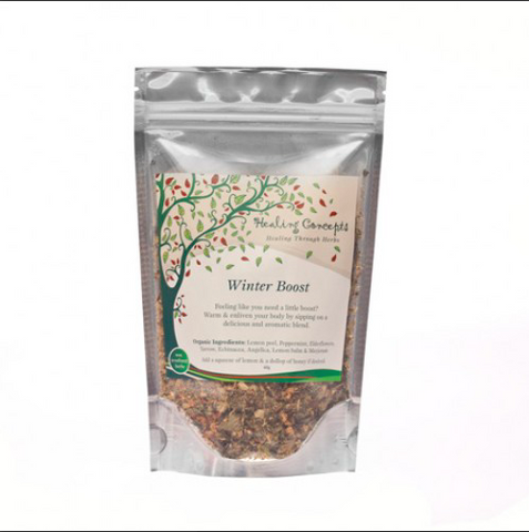 Winter Boosting Organic Herbal Tea Blends 40g