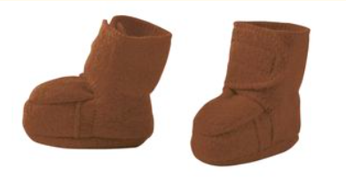Organic Felted Wool Booties / Slippers - reduced price