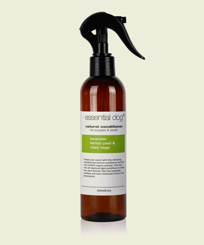 Natural Dog Leave-In conditioner SAMPLE PACK Lavender Lemon Peel & Sage 50ml