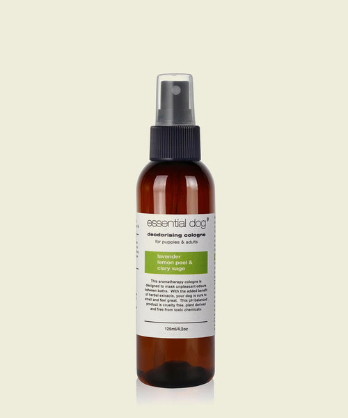 Natural Dog Deodoriser - Lavender Lemon and sage for Adults and Puppies 125ml