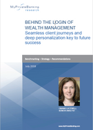 Behind the Login of Wealth Management - Seamless client journeys and deep personalization key to future success-Research Report-MyPrivateBanking Research