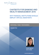 Chatbots for Banking and Wealth Management-Research Report-MyPrivateBanking Research
