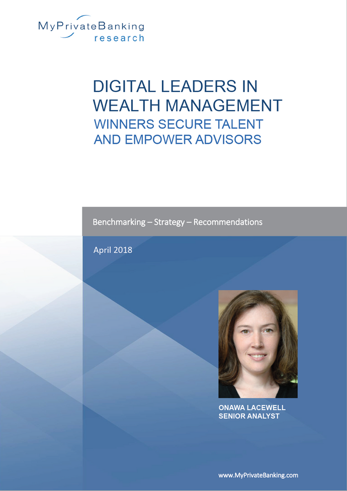 Digital Leaders in Wealth Management - Winners secure talent and empower advisors-Research Report-MyPrivateBanking Research
