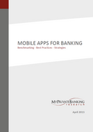Mobile Apps for Banking-Research Report-MyPrivateBanking Research
