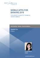 Mobile Apps for Banking – Tech-Savvy Clients Let Down by Shortcomings-Research Report-MyPrivateBanking Research