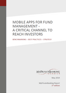 Mobile Apps for Fund Management: A critical channel to reach investors-Research Report-MyPrivateBanking Research