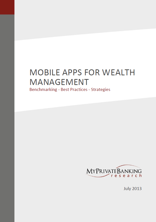 Mobile Apps for Wealth Management-Research Report-MyPrivateBanking Research