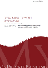 Social Media for Wealth Management-Research Report-MyPrivateBanking Research