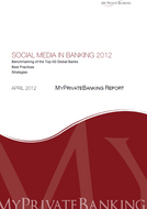 Social Media in Banking-Research Report-MyPrivateBanking Research