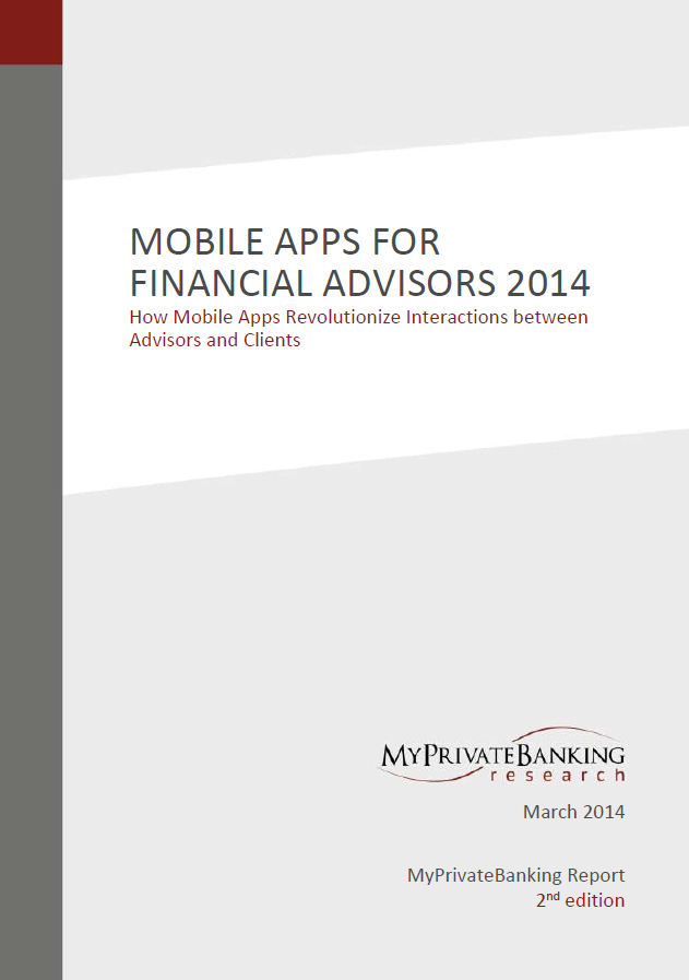Vendor Report: Mobile Apps for Financial Advisors-Research Report-MyPrivateBanking Research