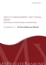 Wealth Management and Social Media-Research Report-MyPrivateBanking Research