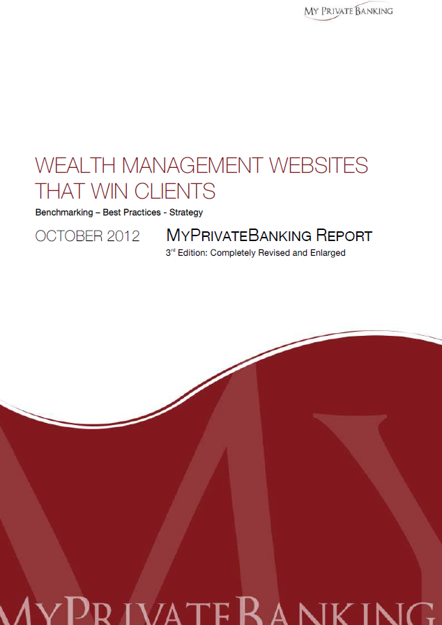 Wealth Management Websites That Win Clients-Research Report-MyPrivateBanking Research