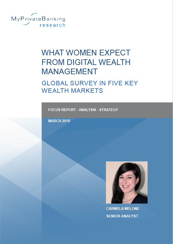 What Women Expect from Digital Wealth Management - Global Survey in Five Key Wealth Management Markets-Research Report-MyPrivateBanking Research
