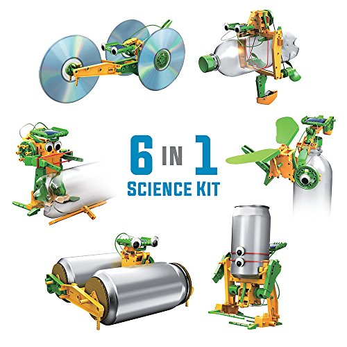 c50783b4e06 The 6 in 1 super solar recycle science kit is a totally green toy kit that  powered by natural sunlight. This requires no batteries and includes all  the ...