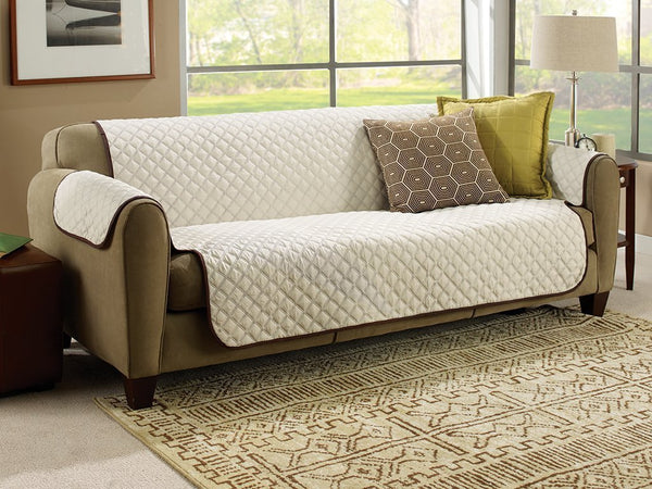 Admirable Reversible Couch Cover Gmtry Best Dining Table And Chair Ideas Images Gmtryco