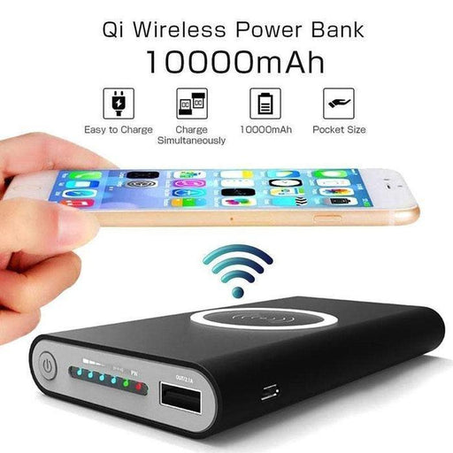 10 000mAh Qi Wireless Smartphone Charger And Power Bank | Shop Online | Snatcher