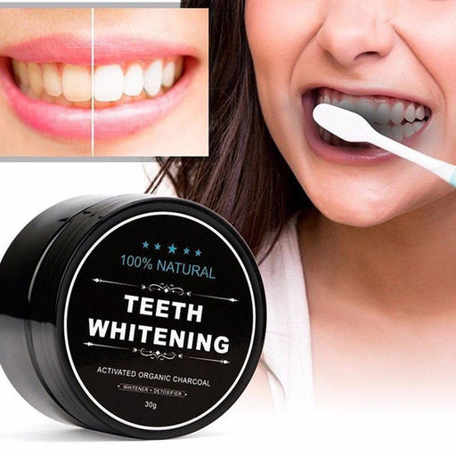100% Natural Charcoal Teeth Whitening Powder | Shop Online | Snatcher