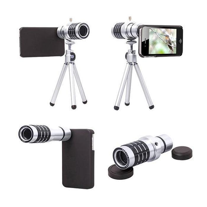12X Telephoto Lens With Tripod | Shop Online | Snatcher