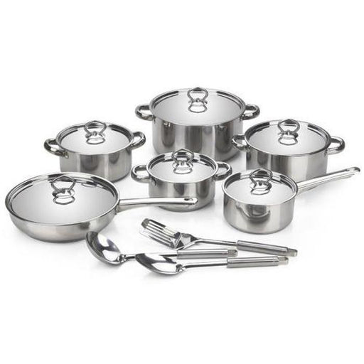 15 piece Stainless Steel Cookware Set | Shop Online | Snatcher