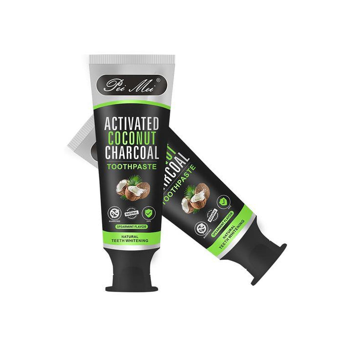 Image result for pei mei activated coconut charcoal toothpaste