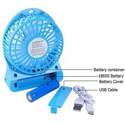 2-for-1 Portable And Rechargeable Fan | Shop Online | Snatcher