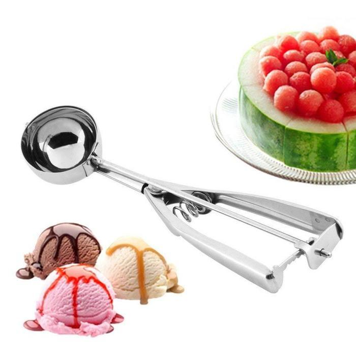 2-for-1 Stainless Steel Ice Cream Scoop | Shop Online | Snatcher
