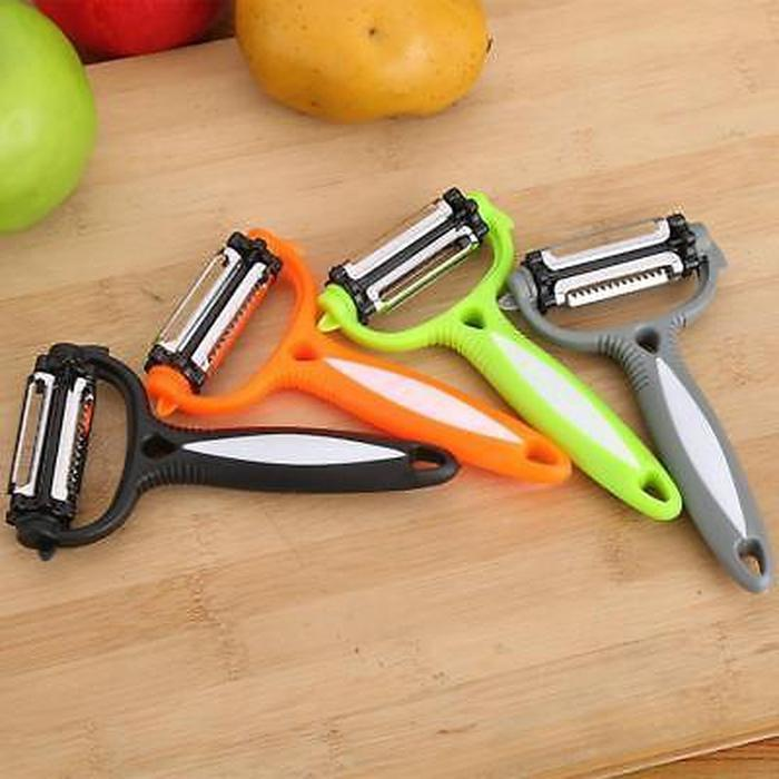 2-for-1 Three Blade Rotating Peeler | Shop Online | Snatcher