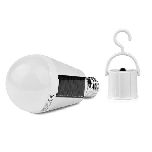 2-In-1 LED Solar Emergency Bulb With Hook | Shop Online | Snatcher