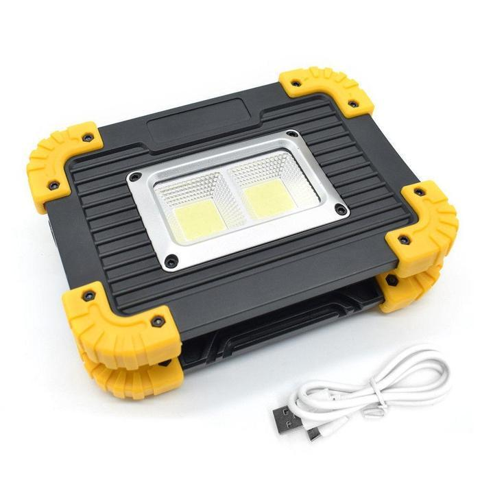 20W COB LED Rechargeable Flood Light | Shop Online | Snatcher