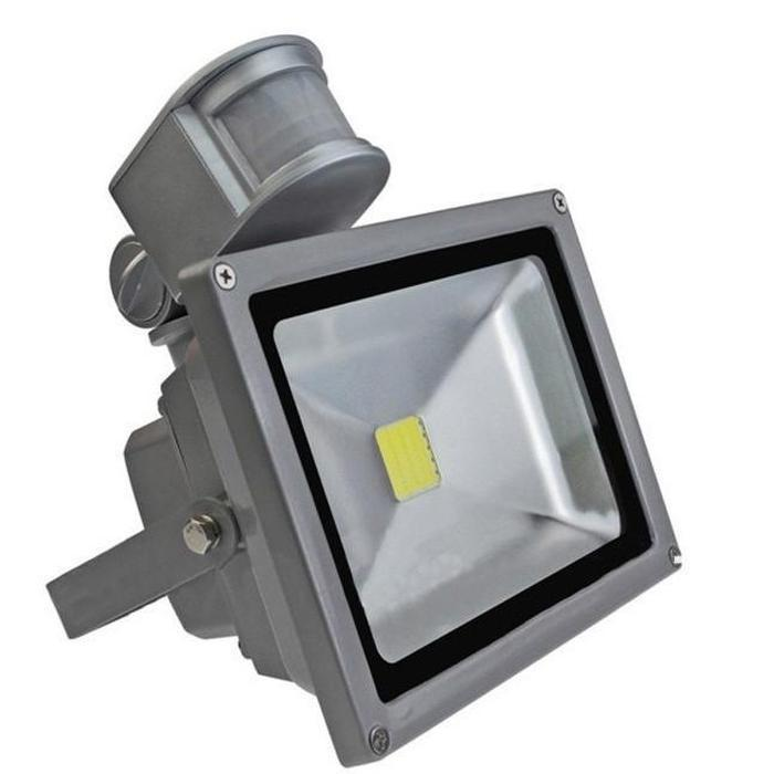 20W LED Outdoor Floodlight With Motion Detector | Shop Online | Snatcher