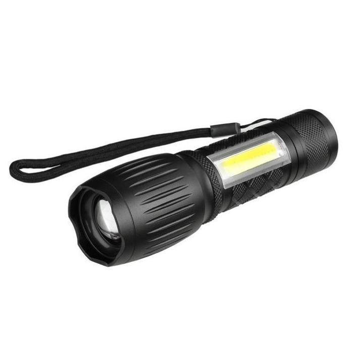 2x USB Rechargeable Mini COB Flashlights | Shop Online | Snatcher
