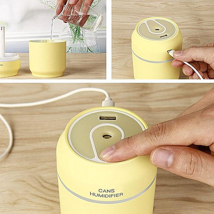 3-In-1 Can Shaped Humidifier | Shop Online | Snatcher