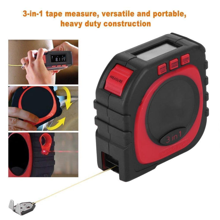 3-in-1 Digital Measuring Tape | Shop Online | Snatcher