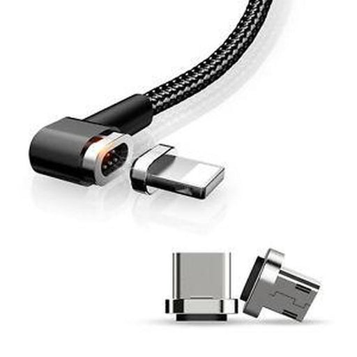 3 in 1 Magnetic Nylon Braided Cable | Shop Online | Snatcher