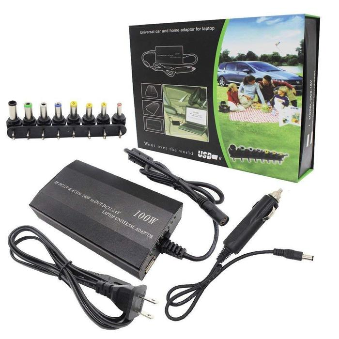 3-In-1 Universal Laptop Charger 100W | Shop Online | Snatcher