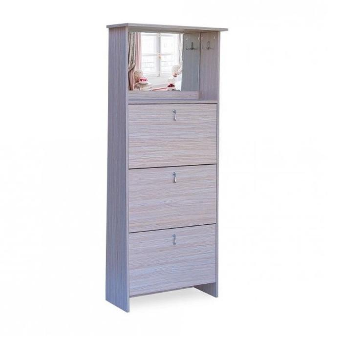 3 Tier Mirror Vanity Shoe Cabinet | Shop Online | Snatcher