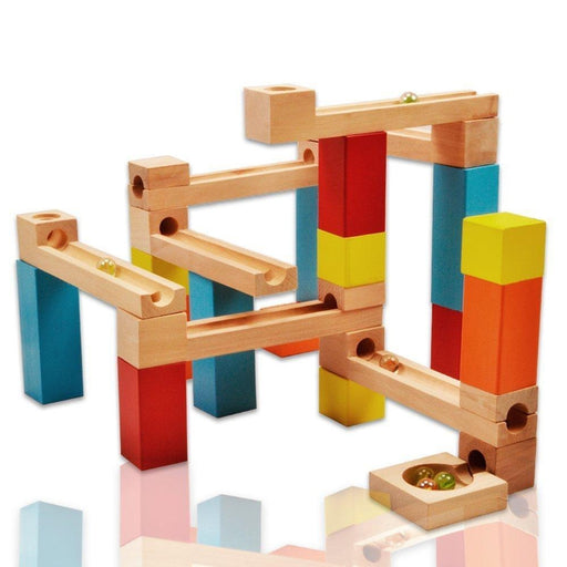 33 Piece Marble Run Construction Blocks Set | Shop Online | Snatcher