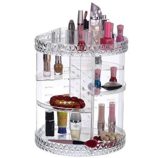 360 Degree Rotating Cosmetics Organizer | Shop Online | Snatcher