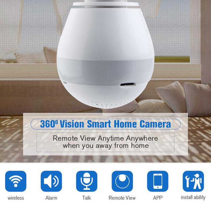 360 Panoramic Wireless IP Camera | Shop Online | Snatcher