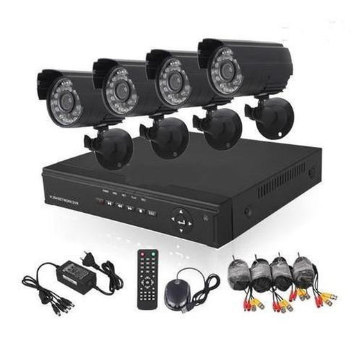 4 Channel DIY CCTV Kit With Internet & Home Viewing | Shop Online | Snatcher