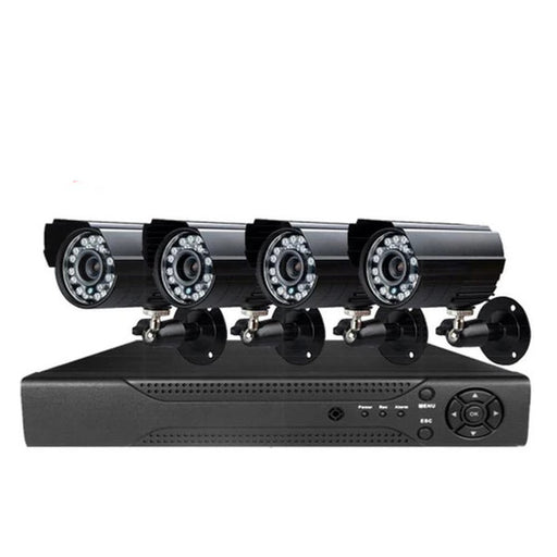 4 / 8 Channel DIY CCTV Kit With Internet & Home Viewing
