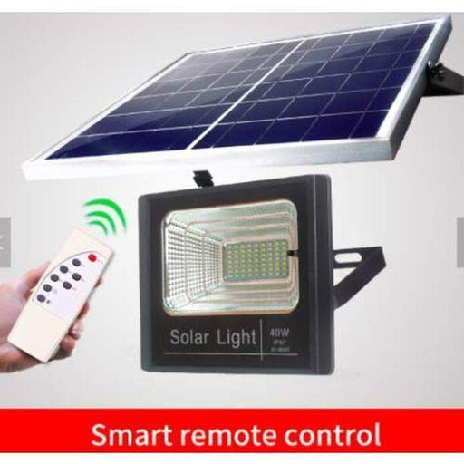 40W Outdoor Light With Solar Panel | Shop Online | Snatcher