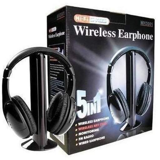 5-in-1 Wireless Headphones | Shop Online | Snatcher