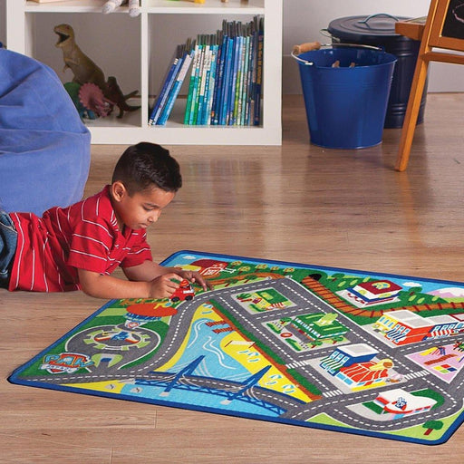 70 x 80cm City Construction Road Play Mat | Shop Online | Snatcher