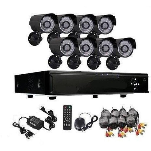 8 Channel Security Surveillance System With Internet & 3G Phone Viewing | Shop Online | Snatcher